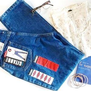 Vintage Gitano Size 10 Petite High Waist Mom Jeans